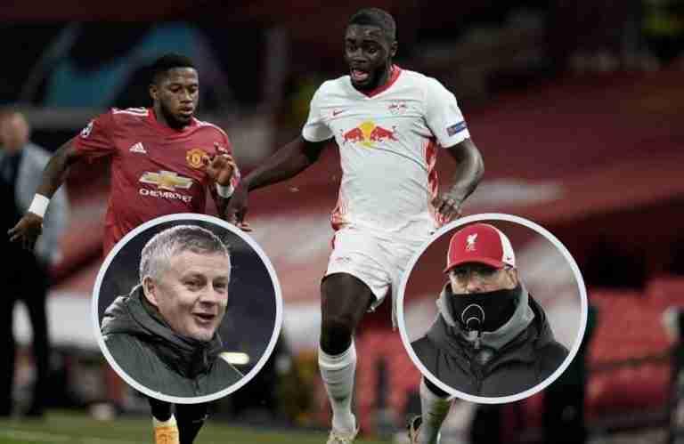 United dan Liverpool berusaha untuk mendapatkan Dayot Upamecano