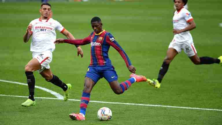 Ousmane Dembele dipantau oleh Manchester United dan Juventus
